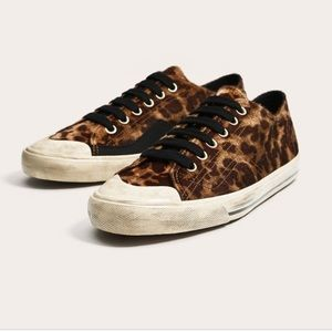 Men Zara Animal Print Sneakers
